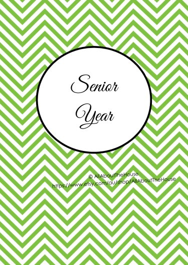 Senior Year - Green