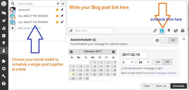 How to share blog posts on social media