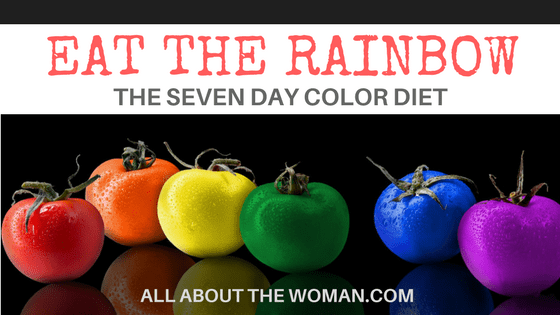 The Seven Day Color Diet - Eat The Rainbow - Red