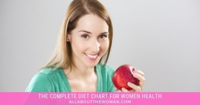 The Complete Diet chart For Women health