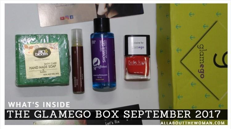 What's Inside the Glamego Box September 2017