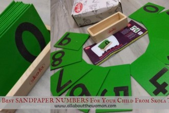The Best SANDPAPER NUMBERS For Your Child From Skola Toys