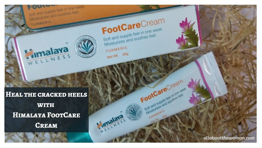 Heal the cracked heels with Himalaya FootCare Cream