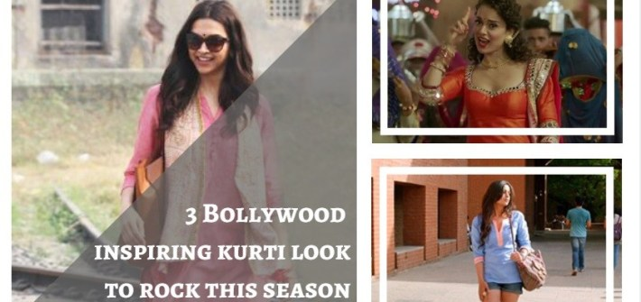 3 Bollywood inspiring kurti look to rock this season