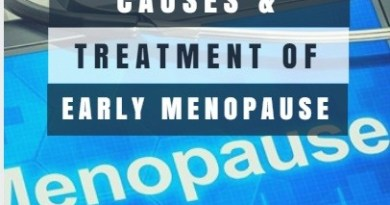 Causes And Treatment Of Early Menopause