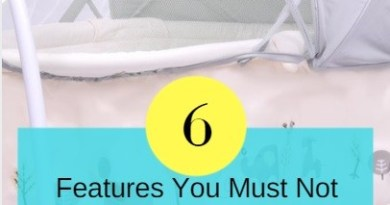 Six Features You Must Not Miss While Buying Cradle For Your Baby