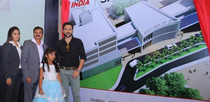 Business Couple Donates 200 crore to Cancer Care Hospital NEW INDIA