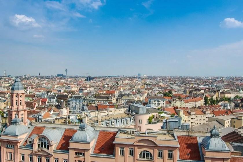 Vienna weather - summer