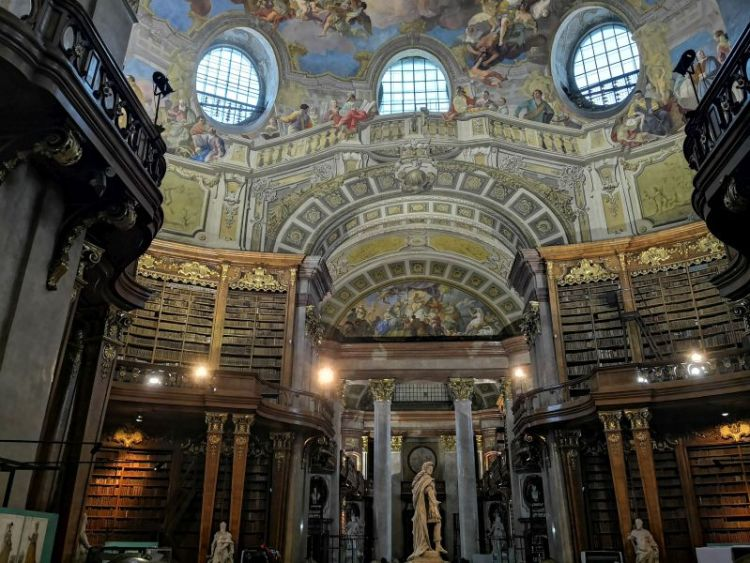 Austrian National Library - State Hall