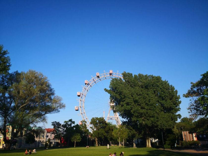 Prater - one of many Viennas green areas