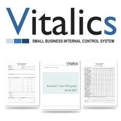 VITALICS EASY TO USE SMALL BUSINESS INTERNAL CONTROL FORMS