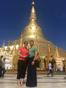 Skirts are cool in Myanmar