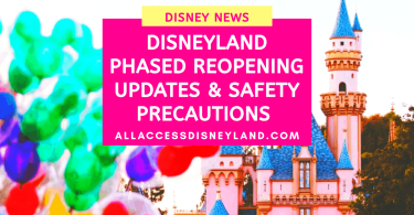 Disneyland reopening updates