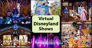 Virtual Disneyland Shows