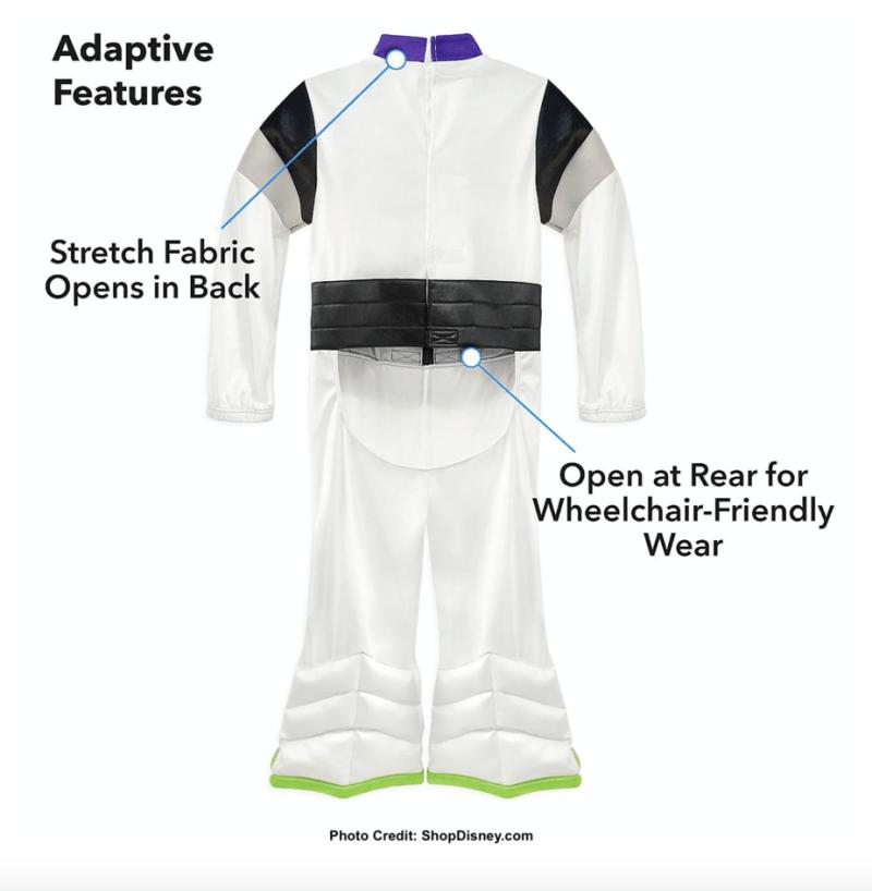 Buzz adaptive costume