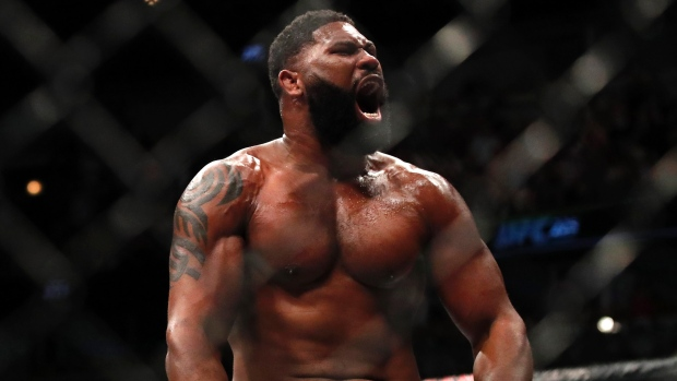Curtis Blayde's defeated Alexander Volkov at UFC Fight Night this past weekend. Courtesy: Getty Images/Zuffa llc