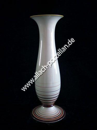 500 Porzellan-Vase, farbig