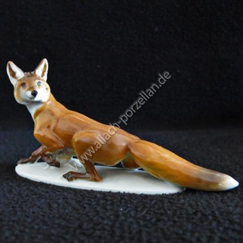 79 Sneaking Fox, painted