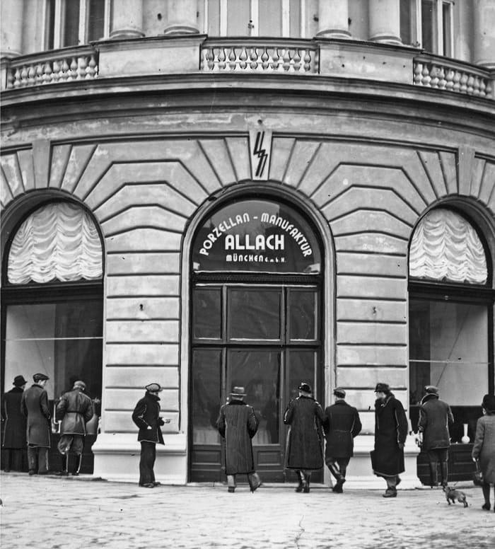 Allach Porcelain shop in Munich