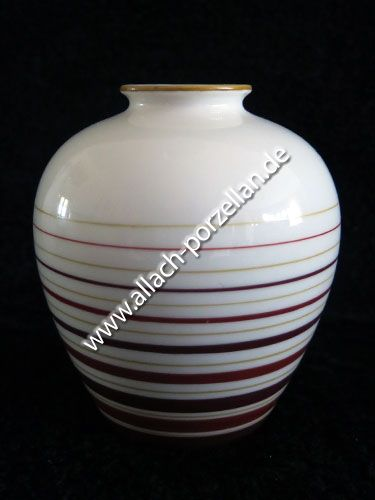 502 Porzellan-Vase, farbig