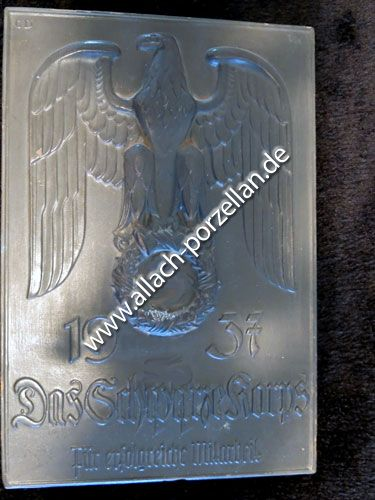 Plakette Das Schwarze Korps 1937