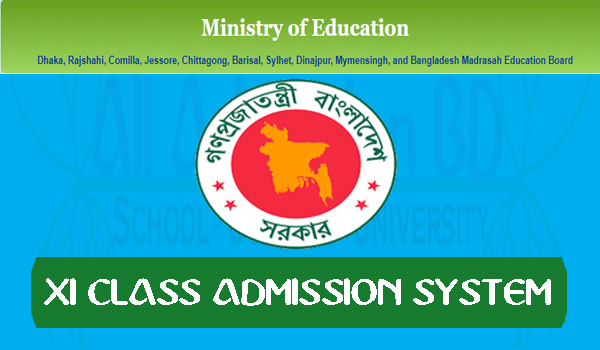 XI CLASS ADMISSION SYSTEM