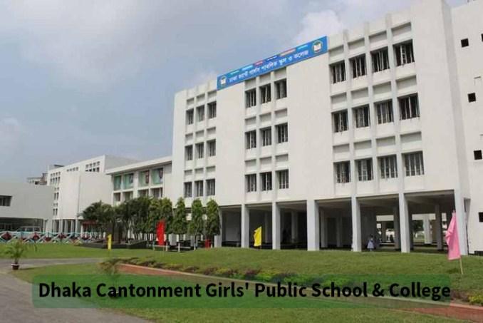 Dhaka Cantonment Girls' Public School & College