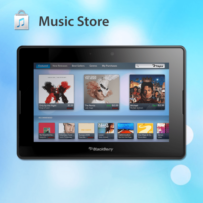 Music downloads free for blackberry playbook.