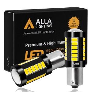 Alla Lighting BA15S BAY15D 1157 1156 LED Signal Stop Reverse Lights
