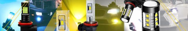 LED Fog Lights Bulbs Replacement for Cars Trucks