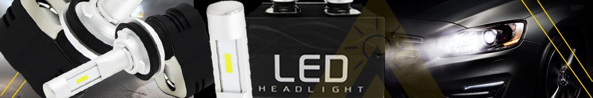 Brightest 9008 H13 H11 H8 H9 9005 9006 HB3 LED Headlight Bulbs