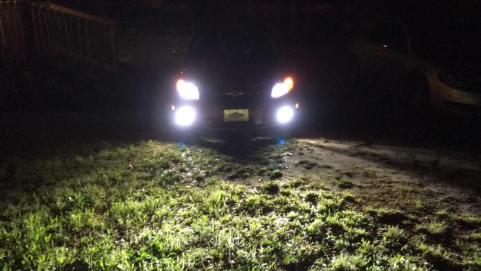 Toyota 4Runer Low Beam LED Headlight Bulbs Upgrade