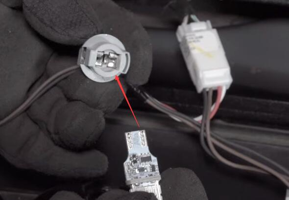 Dodge Ram 1500 3rd Brake Light Center High Mounted Stop LED Bulbs Install Insert