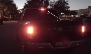 Dodge Ram 1500 3rd Brake Light Center High Mounted Stop Bulbs Install Replace