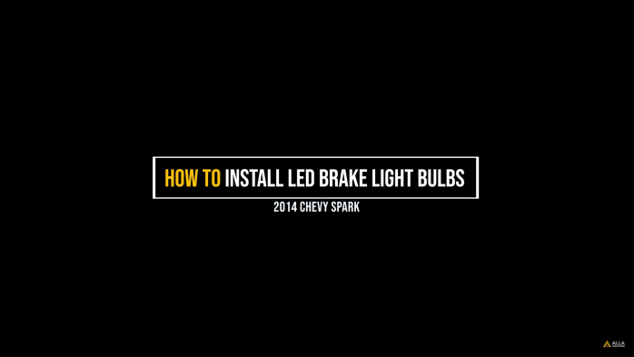 2013-2019 Chevy Spark Brake Stop Light - LED Lights Replacement 21