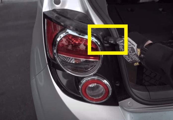2013 Chevy Sonic LED STROBE Brake Light 17