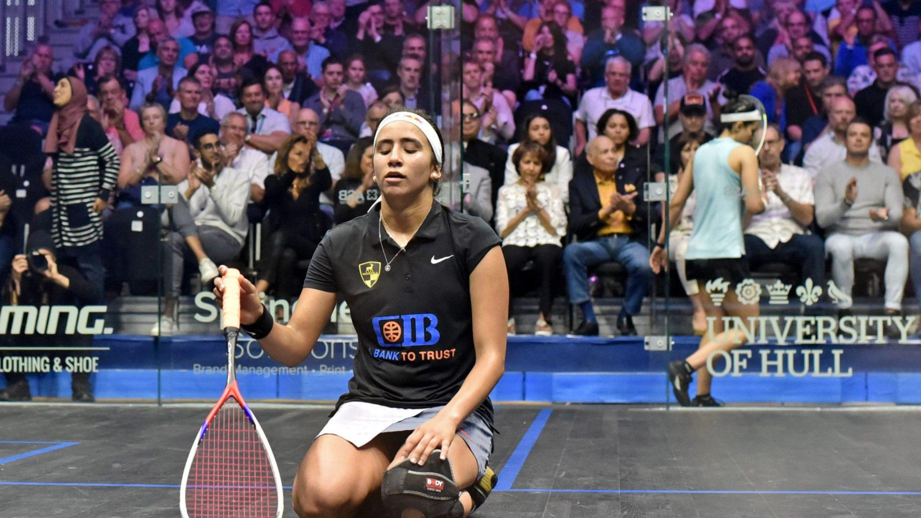 Nouran Gohar at the British Open