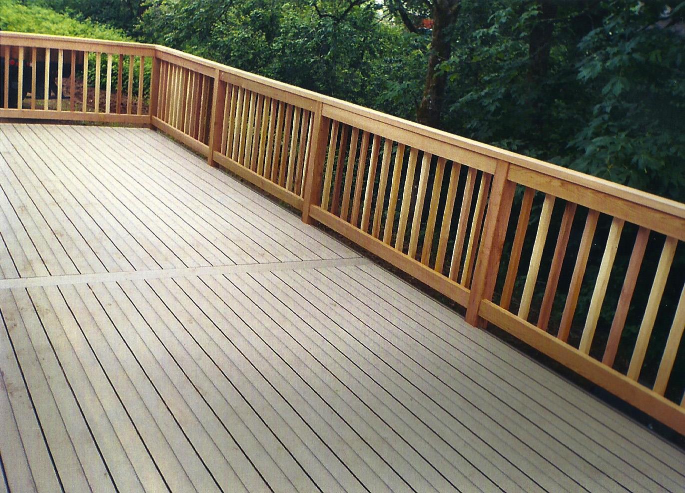 Timbertech Composite Deck Amp Clear Cedar Railing All