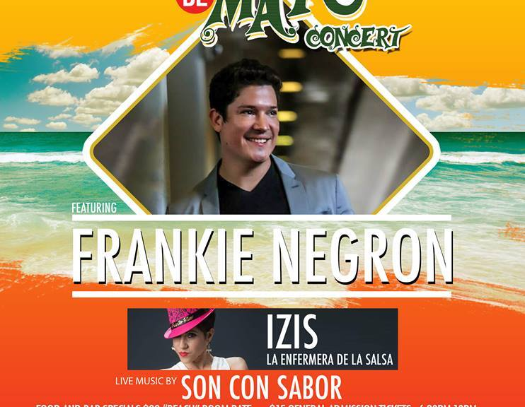 cinco de mayo concert with frankie negron a huge success all
