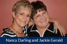 Nancy Darling and Jackie Gerald