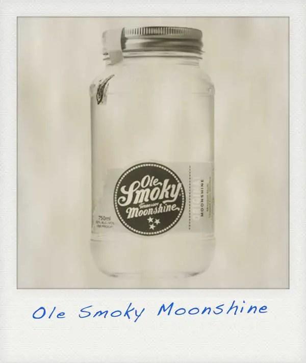 wmoothest whiskey ole smoky moonshine