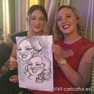 Caricature Artist for Weddings Dundalk