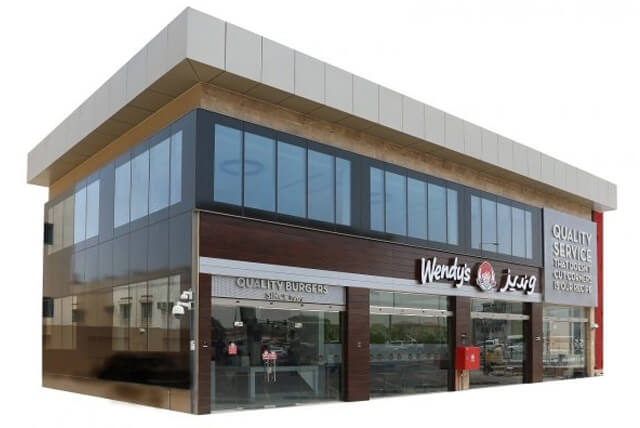 Wendy's restaurant in qatar