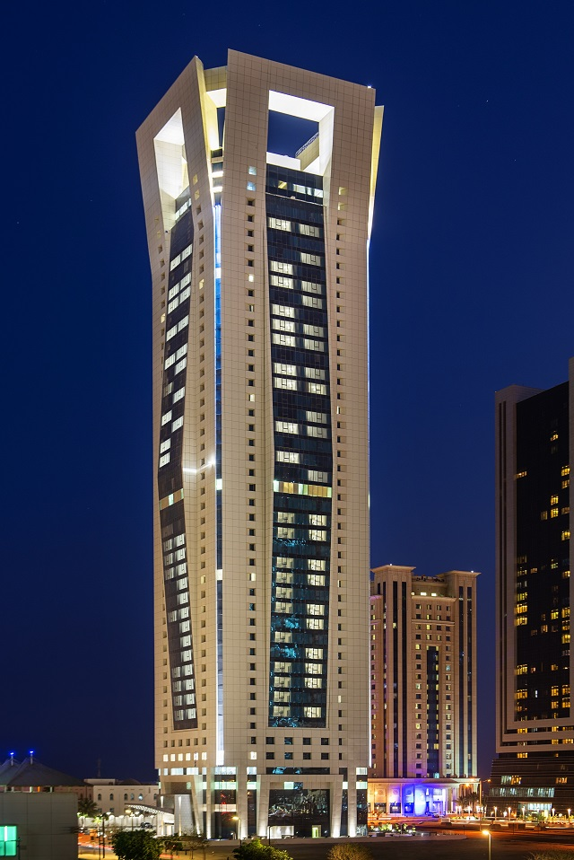 External view of Centara Westbay Residences & Suites Doha Tower