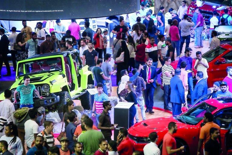 qatar motor show