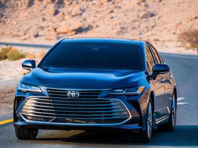 Aab Launch Luxurious And Dynamic All New  Toyota Avalon In Qatar Motor Show