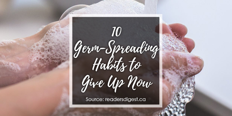 germ-spreading habits