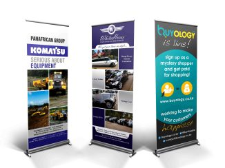 Design & Production - Rollup banners