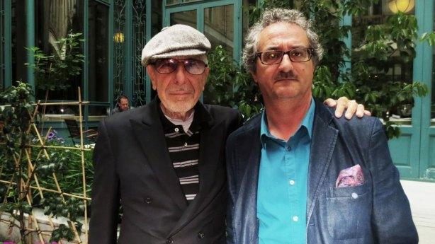 Leonard Cohen & Dominique Boile