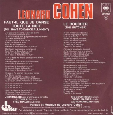 French Edition (back cover)
